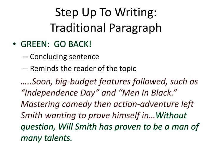 Step Up To Writing: