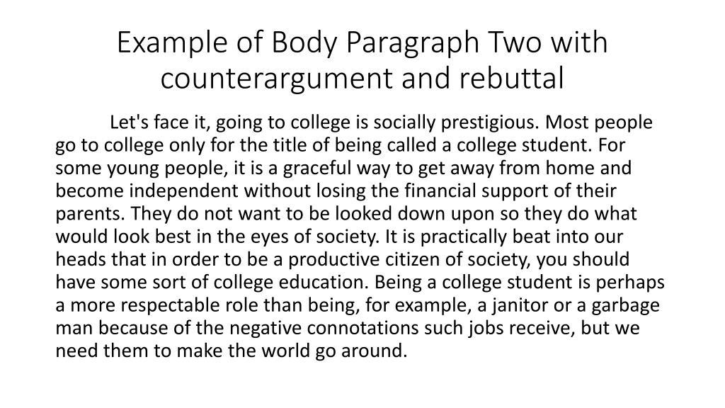 Bill daly 1997 on writing argumentative essays