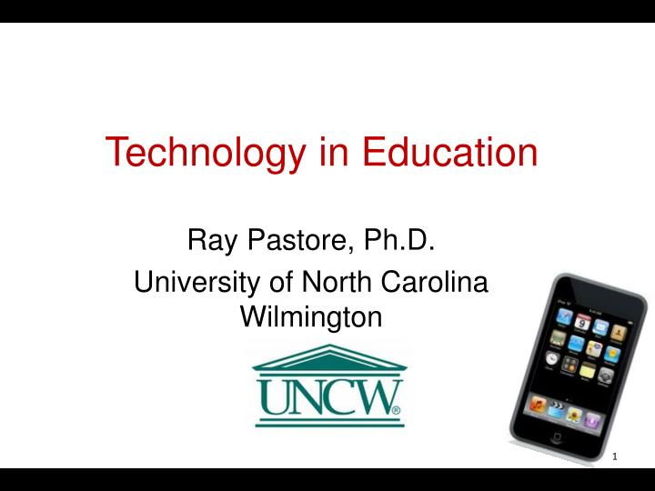 technology in education n.