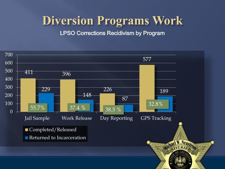 Diversion Programs Work