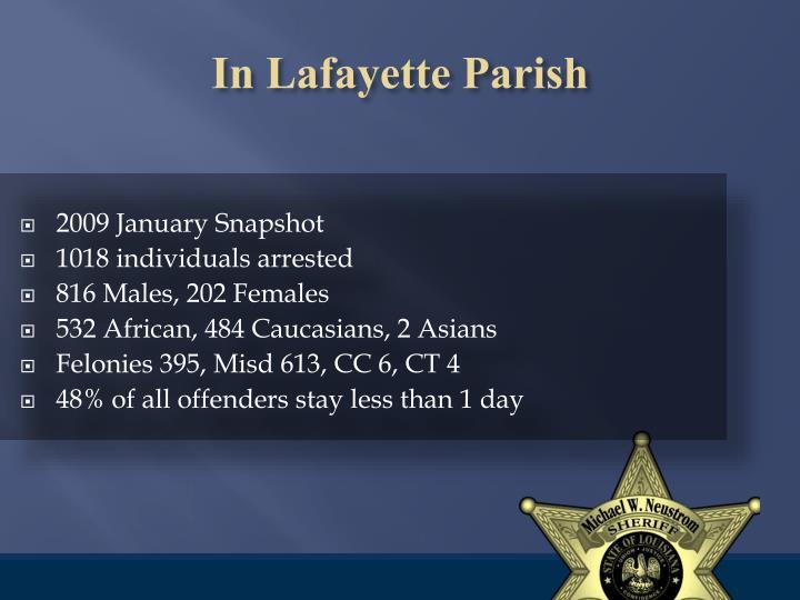 In Lafayette Parish