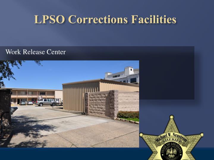 Work Release Center