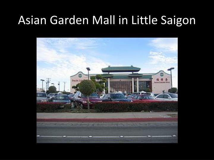 Asian Garden Mall in Little Saigon