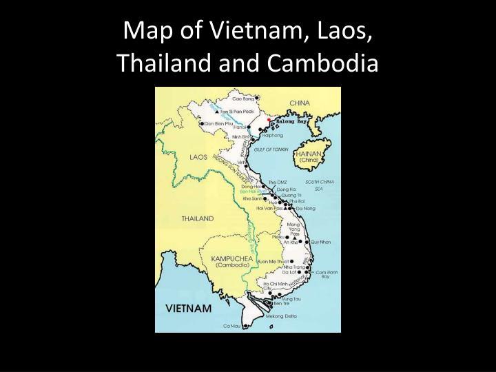 Map of Vietnam,