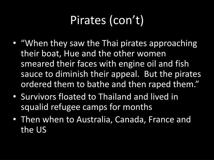 Pirates (