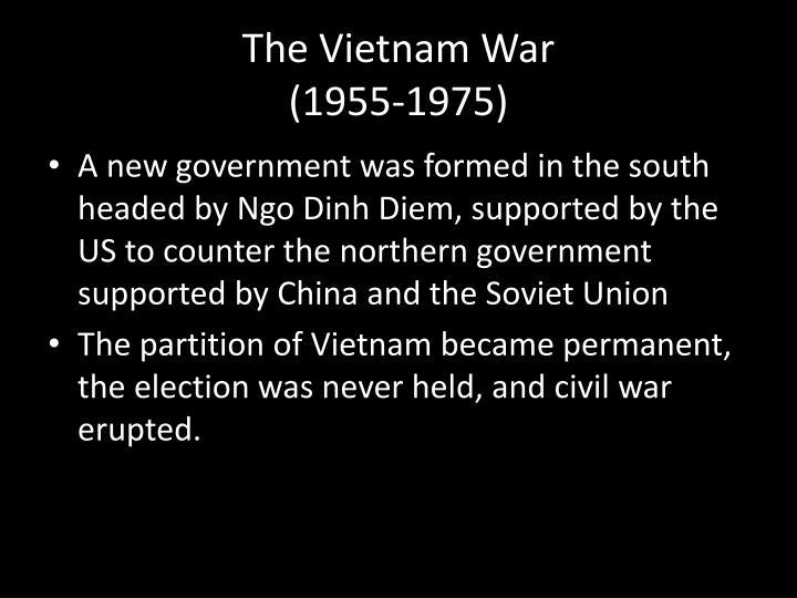 The vietnam war 1955 1975