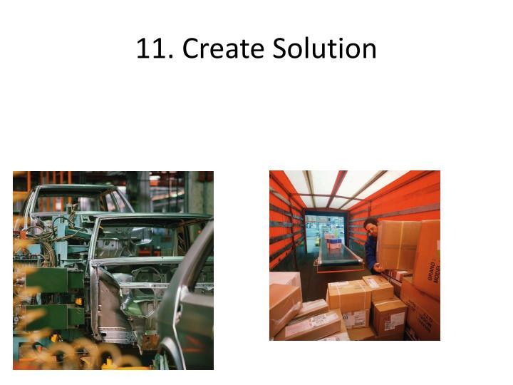 11. Create Solution