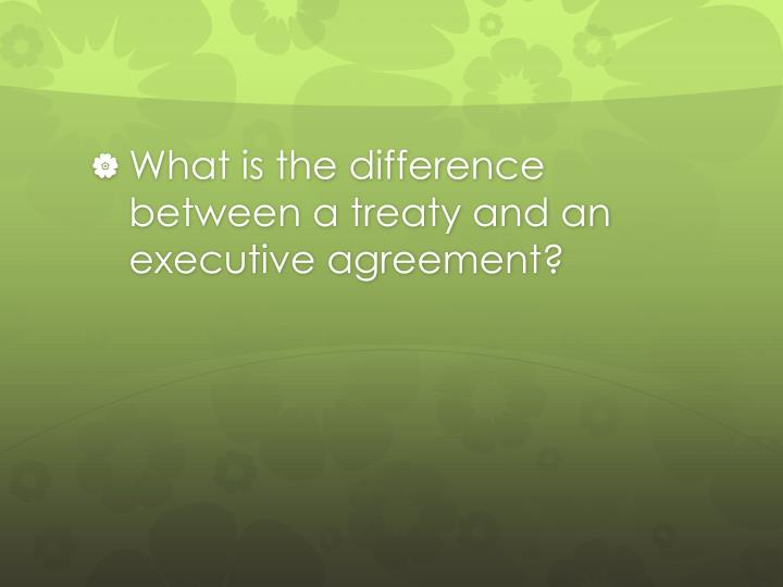 Ppt Foreign Policy And How The Executive Branch Works Review