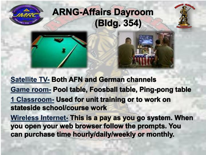 ARNG-Affairs Dayroom