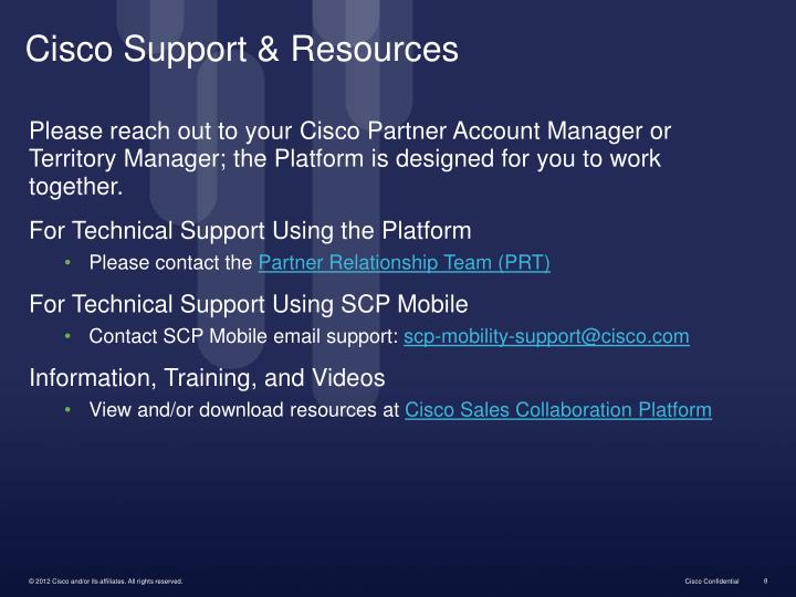 Cisco Support & Resources