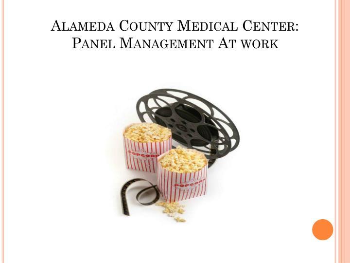 Alameda County Medical Center: