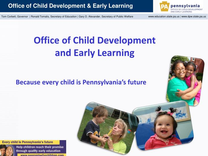 office of child development and early learning n.
