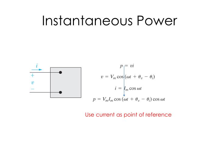 Instantaneous power1