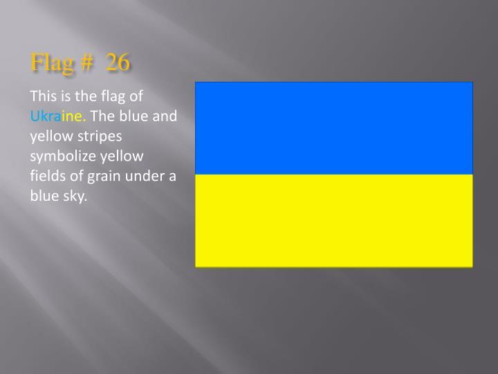 Flag #  26