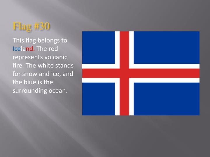 Flag #30