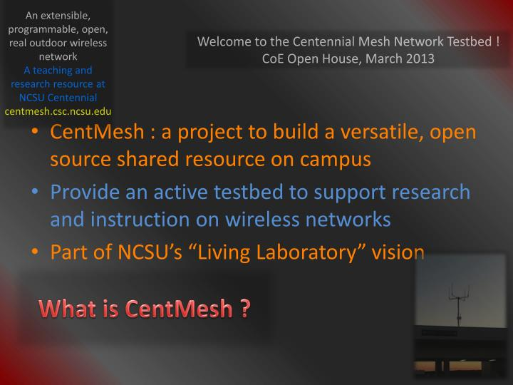 What is centmesh