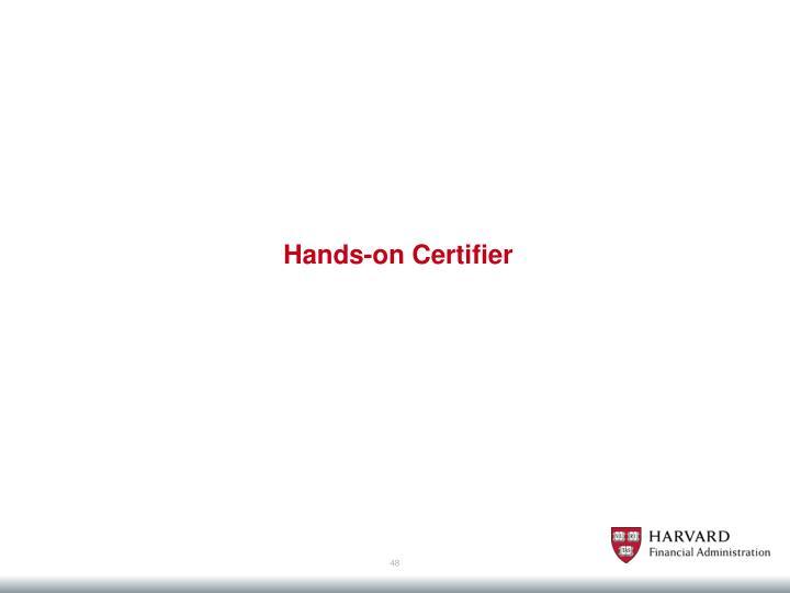 Hands-on Certifier