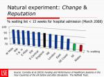 natural experiment change reputation1