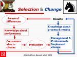 selection change