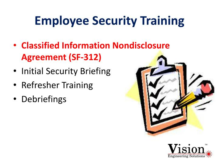 Ppt Nispom Chapter 3 Security Training And Briefings Powerpoint