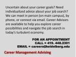 career management advising