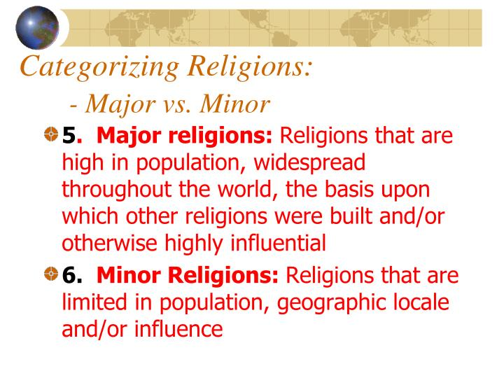 major religions essay This essay five major religions and other 63,000+ term papers, college essay examples and free essays are available now on reviewessayscom autor.