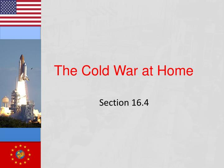 the cold war at home n.