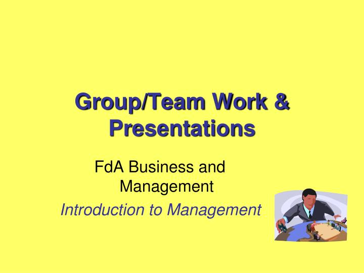 fda business and management introduction to management n.