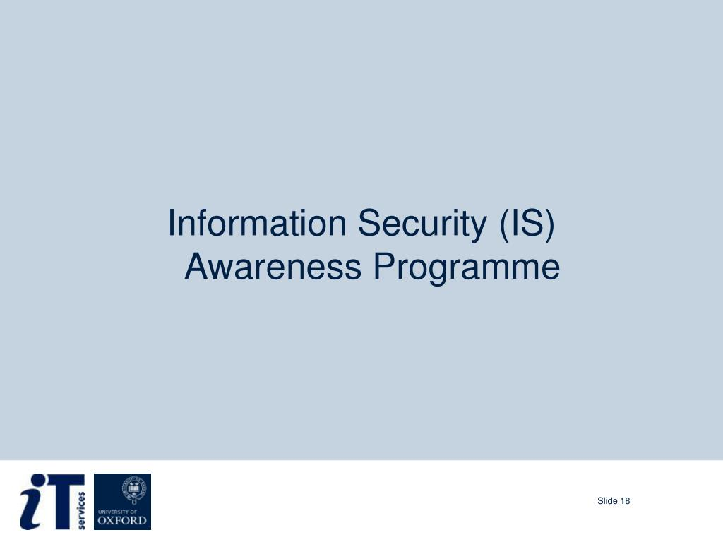 PPT - Information Security Awareness Briefing PowerPoint