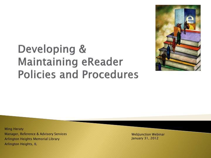 Developing & Maintaining