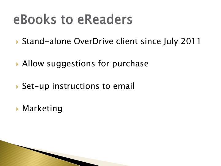 eBooks to