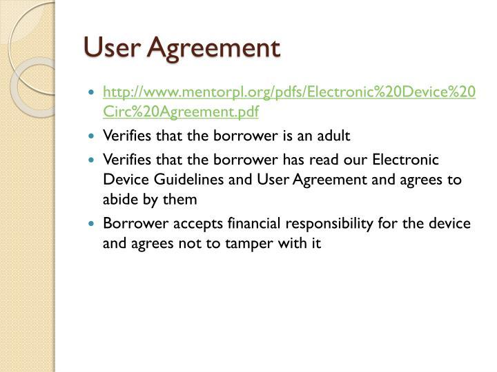 User Agreement