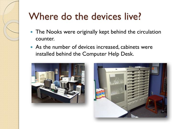 Where do the devices live?