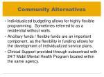 community alternatives1
