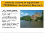 persons in need of supervision pins reform legislation summary