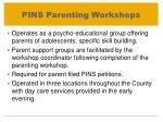 pins parenting workshops