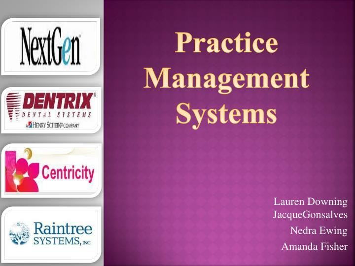 practice management systems n.