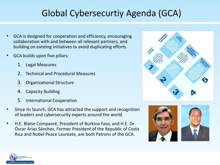 Global Cybersecurtiy Agenda (GCA)