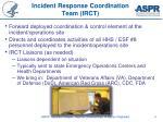 incident response coordination team irct