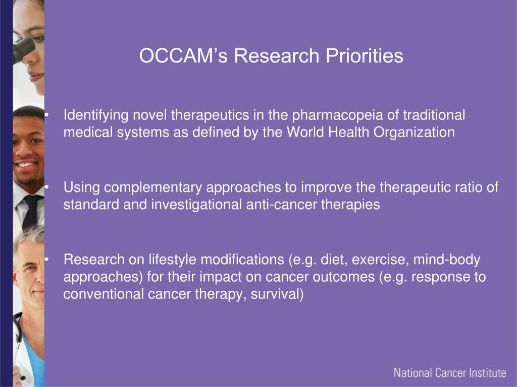 PPT - The NCI Office of Cancer Centers Learning Series Complementary