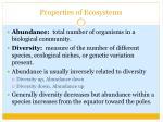 properties of ecosystems1