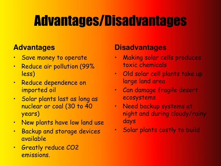 Ppt Types And Uses Of Solar Energy Powerpoint