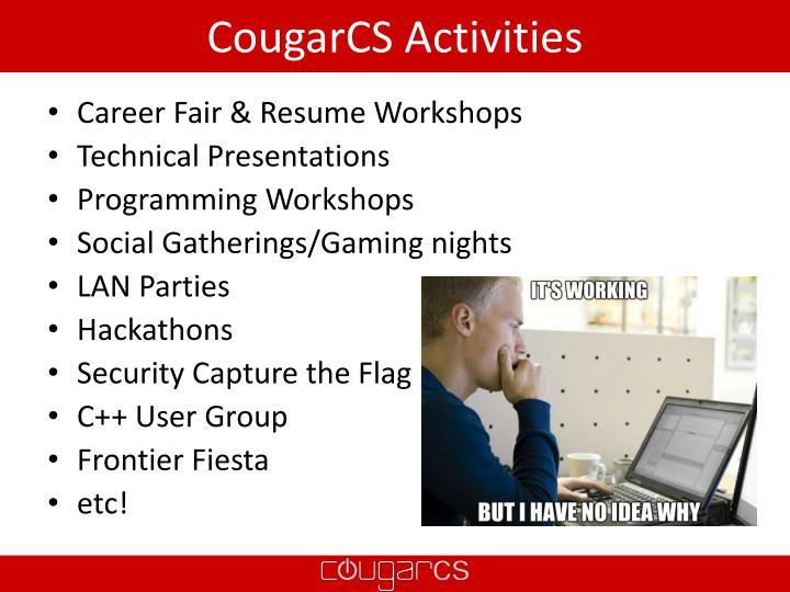 CougarCS Activities