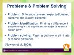 problems problem solving