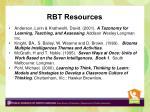 rbt resources1