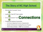 the story of nc high school