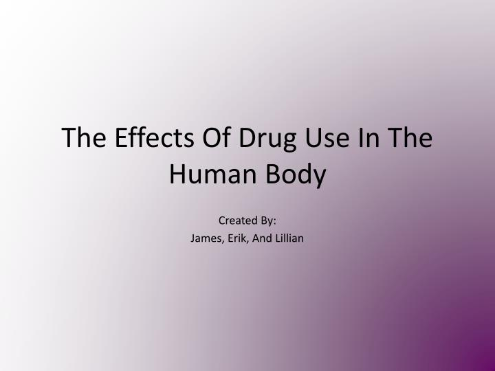 the effects of drug use on Drug abuse is linked to the top us medical problems, including heart disease, cancer, hiv/aids, and mental illness hiv/aids, hepatitis, and other infectious diseases nearly one-third of reported aids cases have been linked to injection drug use—heroin, cocaine, or any drug that abusers inject.