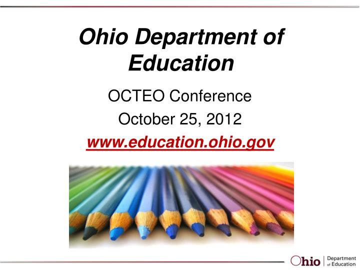ohio department of education n.