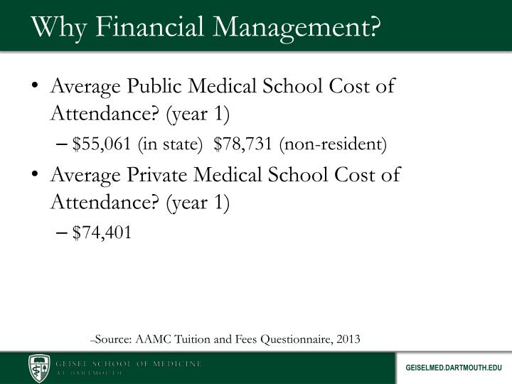 Why Financial Management?