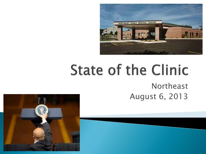 state of the clinic n.